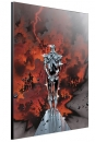 Marvel Holzdruck Silver Surfer by Olivier Coipel 40 x 60 cm