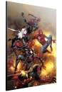 Marvel Holzdruck Spider-Verse by Olivier Coipel 40 x 60 cm