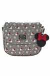 Disney by Loungefly Umhängetasche Minnie Head & Flower Print