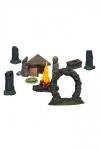 WizKids 4D Settings Miniaturen unbemalt Jungle Shrine