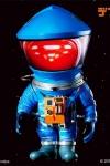 2001: Odyssee im Weltraum Artist Defo-Real Series Vinyl Figur DF Astronaut Blue Ver. 15 cm
