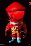 2001: Odyssee im Weltraum Artist Defo-Real Series Vinyl Figur DF Astronaut Red Ver. 15 cm