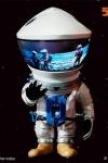 2001: Odyssee im Weltraum Artist Defo-Real Series Vinyl Figur DF Astronaut Silver Ver. 15 cm
