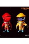 2001: Odyssee im Weltraum Artist Defo-Real Series Vinyl Figuren DF Astronaut Red & Yellow Ver. 15 cm