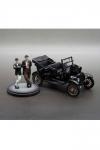 Laurel und Hardy Diecast Modell 1/24 1925 Ford Model T mit Figuren