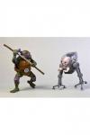 Teenage Mutant Ninja Turtles Actionfiguren Doppelpack Donatello vs Krang in Bubble Walker 18 cm