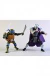 Teenage Mutant Ninja Turtles Actionfiguren Doppelpack Leonardo vs Shredder 18 cm
