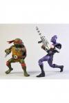 Teenage Mutant Ninja Turtles Actionfiguren Doppelpack Raphael vs Foot Soldier 18 cm