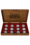 Game of Thrones Deluxe Ansteck-Pin 12er-Pack House Emblems