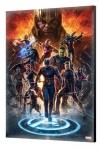 Avengers: Endgame Holzdruck #01 40 x 60 cm
