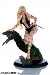 Women of Dynamite Statue Sheena Night Stalker Variant by J. Scott Campbell 25 cm