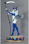 Lady Death Statue La Muerta Azul Variant Edition 36 cm