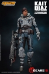 Gears of War 5 Actionfigur 1/12 Kait Diaz Arctic Armor 18 cm