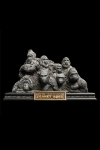 Planet der Affen Statue Apes Through the Ages 29 cm