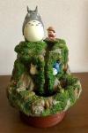 Mein Nachbar Totoro Diorama Water Garden Mae And Totoro