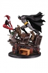 DC Comics Statue 1/8 Batman VS. Harley Quinn Battle Second Edition 44 cm