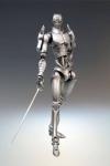 JoJos Bizarre Adventure Super Action Actionfigur Chozokado (Silver Chariot) 16 cm