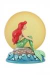 Disney Statue Ariel Sitting on Rock by Moon (Arielle die Meerjungfrau) 19 cm