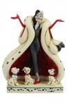 Disney Statue Cruella De Vil (101 Dalmatiner) 21 cm
