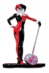 DC Comics Red, White & Black Statue Harley Quinn by Adam Hughes 19 cm