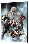 Marvel Avengers Collection Holzdruck Captain America: Hail Hydra 2 Adi Granov 40 x 60 cm