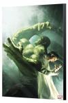 Marvel Avengers Collection Holzdruck Incredible Hulk 7.1 - Michael Komarck 40 x 60 cm