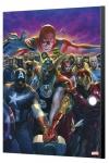 Marvel Avengers Collection Holzdruck Avengers 10 - Alex Ross 40 x 60 cm