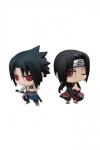 Naruto Chimimega Buddy Series Minifiguren 2er-Pack Sasuke Uchiha & Itachi Set 7 cm
