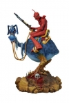 William Stouts Red Rider Statue 33 cm