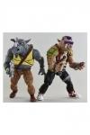 Teenage Mutant Ninja Turtles Actionfiguren Doppelpack Rocksteady & Bebop 18 cm