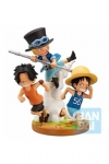 One Piece Ichibansho PVC Diroama The Bonds of Brothers 12 cm