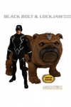 Marvel Universe Actionfiguren 1/12 Black Bolt & Lockjaw mit Leuchtfunktion 17 cm