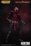 Mortal Kombat Actionfigur 1/12 Sektor 18 cm