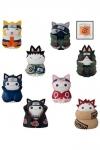 Naruto Shippuden Nyaruto! Sammelfiguren Cats of Konoha Village Limited Set 3 cm