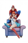 Marvel Maquette Spider-Man & Mary Jane by J. Scott Campbell 32 cm