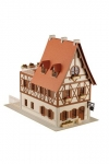 Is the order a rabbit?? Anitecture Paper Model Kit 1/80 Rabbit House 15 cm