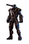 Iron Man 2 Movie Masterpiece Series Diecast Actionfigur 1/6 Neon Tech War Machine Hot Toys Exclusive