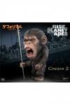 Planet der Affen: Prevolution Deform Real Series Soft Vinyl Statue Caesar Spear Ver. 15 cm