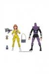 Teenage Mutant Ninja Turtles Actionfiguren Doppelpack April ONeil & Foot Soldier 18 cm