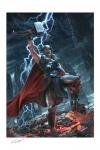 Marvel Kunstdruck Thor: Breaker of Brimstone 46 x 61 cm - ungerahmt