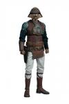 Star Wars Episode VI Actionfigur 1/6 Lando Calrissian (Skiff Guard Version) 30 cm