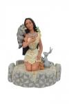Disney Statue White Woodland Pocahontas 19 cm