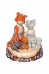 Disney Statue Aristocats Carved by Heart 18 cm