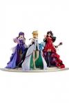 Fate/Stay Night PVC Statuen 1/7 Saber, Rin Tohsaka and Sakura Matou 15th Celebration Dress Ver.
