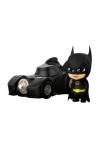 Batman (1989) Cosbaby Minifiguren Batman with Batmobile 12 cm