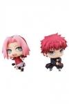 Naruto Chimimega Buddy Series Minifiguren 2er-Pack Sakura & Sasori 7 cm