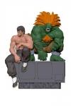 Street Fighter PVC Statuen 1/8 Fei & Blanka