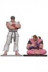 Street Fighter PVC Statuen 1/8 Ryu & Dan