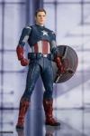 Avengers: Endgame S.H. Figuarts Actionfigur Captain America Cap VS. Cap Edition 15 cm