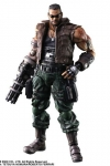 Final Fantasy VII Remake Play Arts Kai Actionfigur Barret Wallace Ver. 2 28 cm